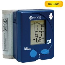 <strong>Simple Diagnostics</strong> Clever Choice Auto-Code 2-IN-1 Blood Glucose plus Blood Pressure Meter