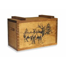 <strong>Evans Sports</strong> Standard Storage Box With Elk Print