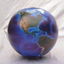 "12"" Blue Marble Globe (Pack of 24)"