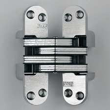 Invisible Hinge for Wood or Metal Application