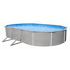 "<strong>Swim Time</strong> Oval 48"" Deep Belize Above Ground Pool Package"