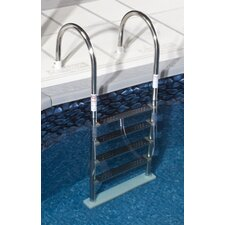 <strong>Swim Time</strong> Premium Stainless Steel In Pool Ladder for Above Ground Pool