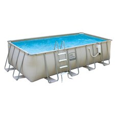 "<strong>Poly Group</strong> Rectangle 52"" Deep Pro Series Swimming Pool Package"