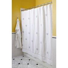 Diamond Pique Cotton Shower Curtain