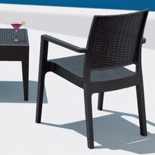 <strong>Compamia</strong> Ibiza Wickerlook Dining Arm Chair (Set of 2)