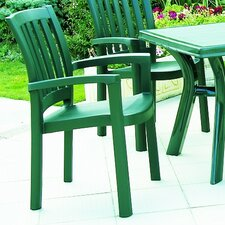 <strong>Compamia</strong> Sunshine Stacking Dining Arm Chair