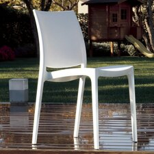 La Plaza Maya Stacking Dining Side Chair (Set of 2)