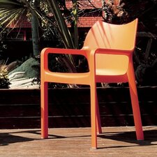 <strong>Compamia</strong> Diva Stacking Dining Arm Chair