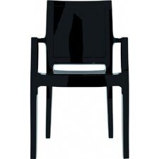 Arthur Stacking Dining Arm Chair