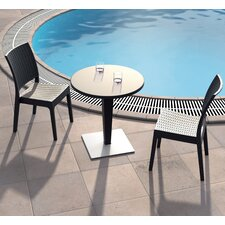<strong>Compamia</strong> Siesta 3 Piece Dining Table Set