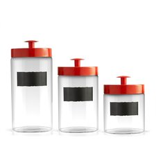 3 Piece Burnham Canister Set