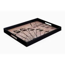 Impressions Carousel Rectangle Tray with Handles