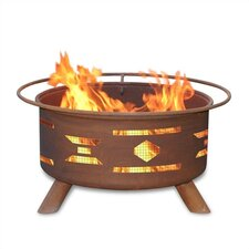 <strong>Patina Products</strong> Mosaic Santa Fe Fire Pit