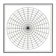 Graphics - Polar Coordinates 4' x 4' Whiteboard