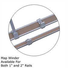 10Map Rail Accessories - Map Winder (Set of 2)