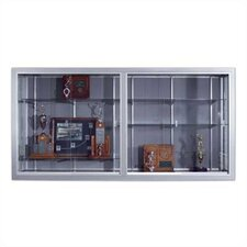 <strong>Marsh</strong> Series 50 Wall-Mounted Sliding Glass Door Trophy Cases - Plas-Cork (without Lighting)