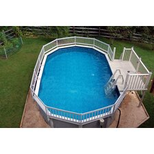 Deluxe In Pool Step for Above Ground Pools