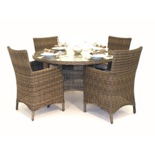Winchester 4 Seater Round Dining Set