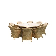 Winchester 4 Seater Round Armchair Set