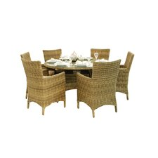 Winchester 8 Seater Round Dining Chair Set