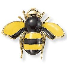 Goldtone Bumblebee Crystal Accent Pin