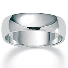 Sterling Silver Wedding Band