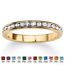 <strong>Palm Beach Jewelry</strong> Birthstone Eternity Ring