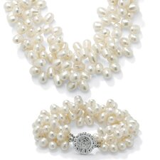 2 Piece Cultured Pearl Set