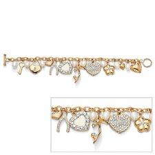 14k Gold Plated Cultured Freshwater Cultured Pearl Bracelet
