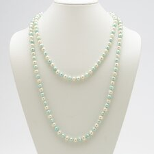 <strong>Palm Beach Jewelry</strong> Blue and White Cultured Pearl Necklace