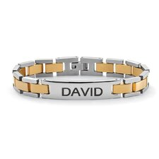 <strong>Palm Beach Jewelry</strong> Men's I.D. Bracelet