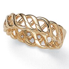 Gold Plated Braided Band