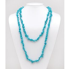 <strong>Palm Beach Jewelry</strong> Turquoise Nugget Necklace