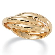 14K Rolling Gold - Plated Ring