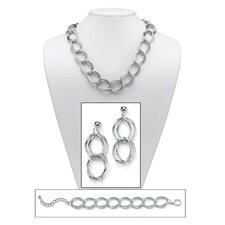 Curb - Link Jewelry Set