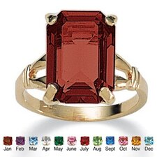 Birthstone Simulated Ring
