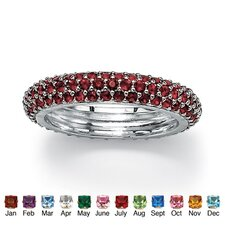 <strong>Palm Beach Jewelry</strong> Birthstone Eternity Band