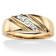 Men's Cubic Zirconia Band