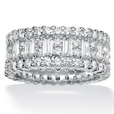 Cubic Zirconia Bead-Style Band