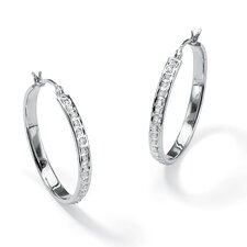 Diamond Fascination Hoop Earrings