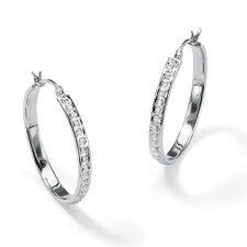 Diamond Fascination Hoop Earrings