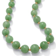 <strong>Palm Beach Jewelry</strong> Jade Strand Necklace