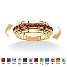 Birthstone Eternity Spinner Band