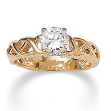 <strong>Palm Beach Jewelry</strong> Cubic Zirconia Ring