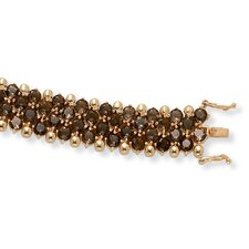Smoky Quartz Tennis Bracelet