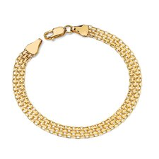 <strong>Palm Beach Jewelry</strong> Bismark Link Bracelet