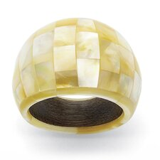 Mother-Of-Pearl Statement Ring