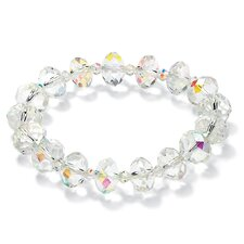 Aurora Borealis Stretch Beaded Bracelet