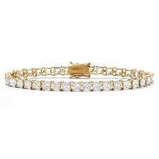 Princess Cut Cubic Zirconia Tennis Bracelet