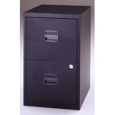 Bisley Two Drawer Home Filing Cabinet